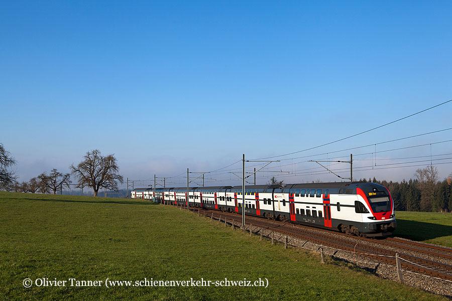 RABe 511 028 als RE Wil – St. Gallen – Chur