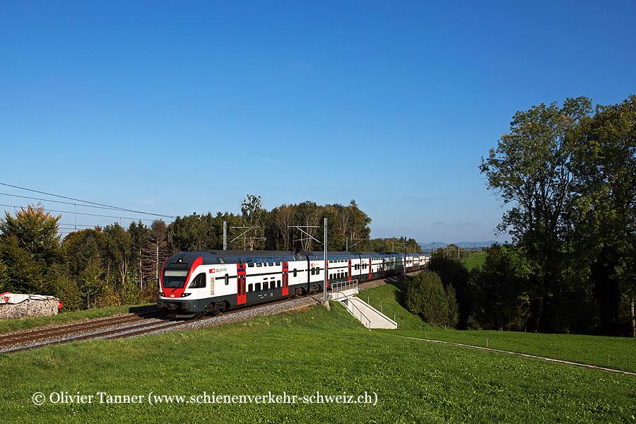 RABe 511 030 als RE Chur – St. Gallen – Wil