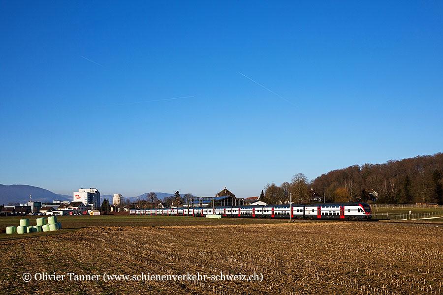 RABe 511 038 und RABe 511 124 als RE Olten – Bern
