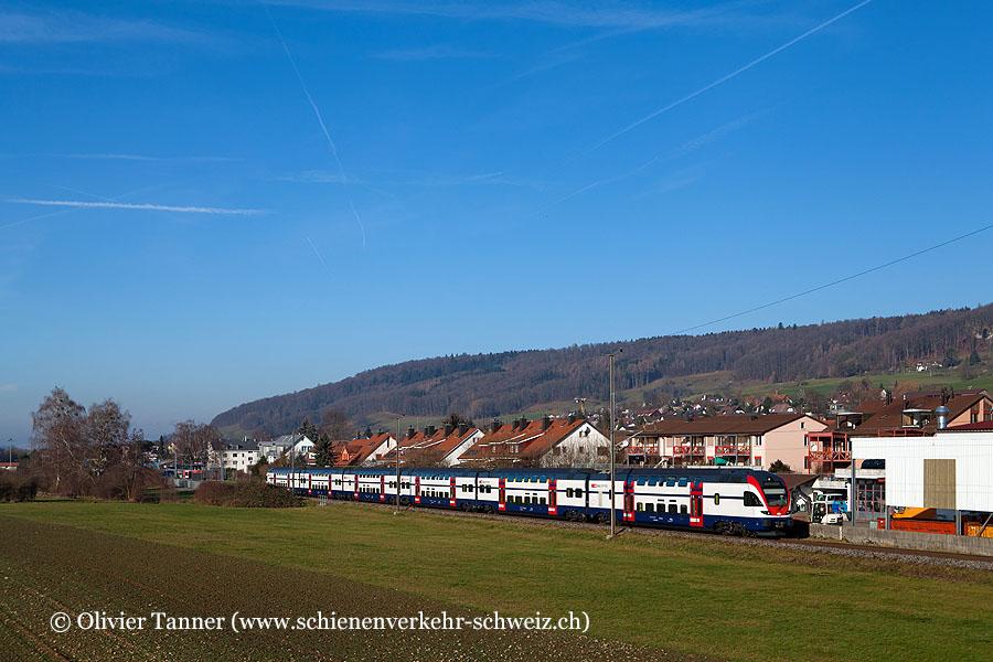 RABe 511 050 als S15 Niederweningen – Zürich HB – Wetzikon – Rapperswil