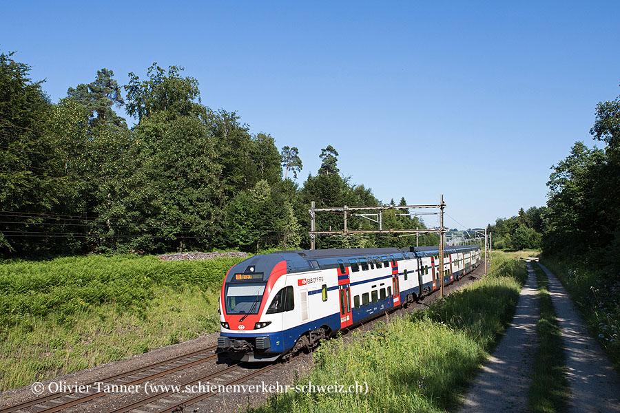 RABe 511 055 als RE Zürich HB – Aarau