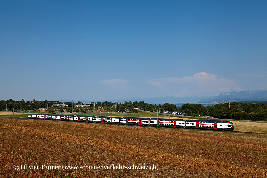 RABe 511 101 und RABe 511 103 als RE Lausanne – Genève