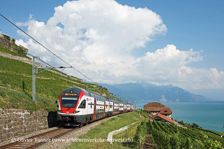 RABe 511 103 als RE Genève – Vevey – Fribourg
