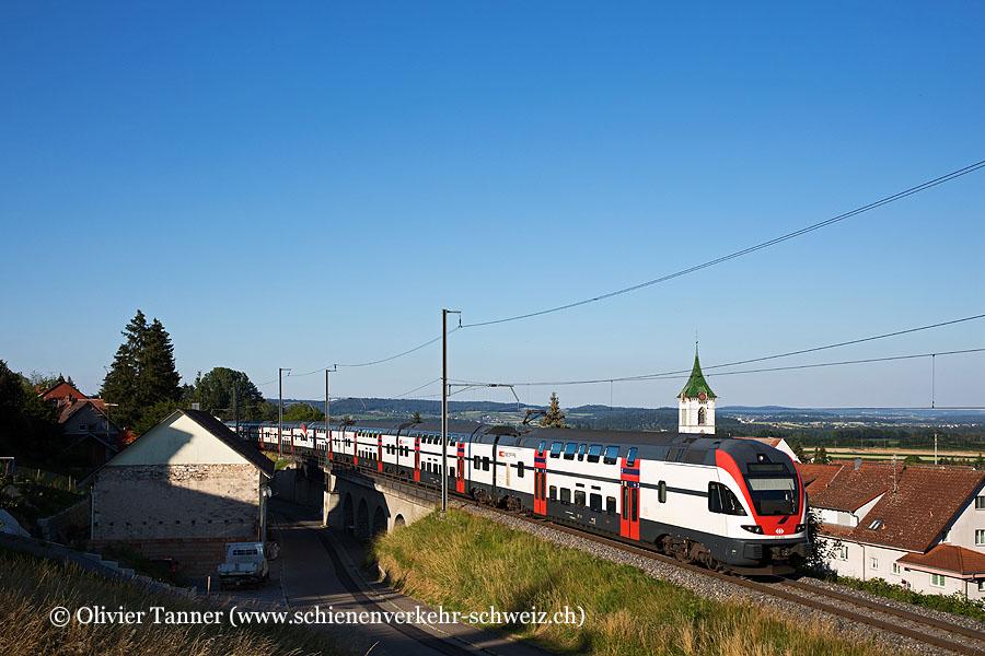 RABe 511 106 und RABe 511 108 als RE Schaffhausen – Zürich