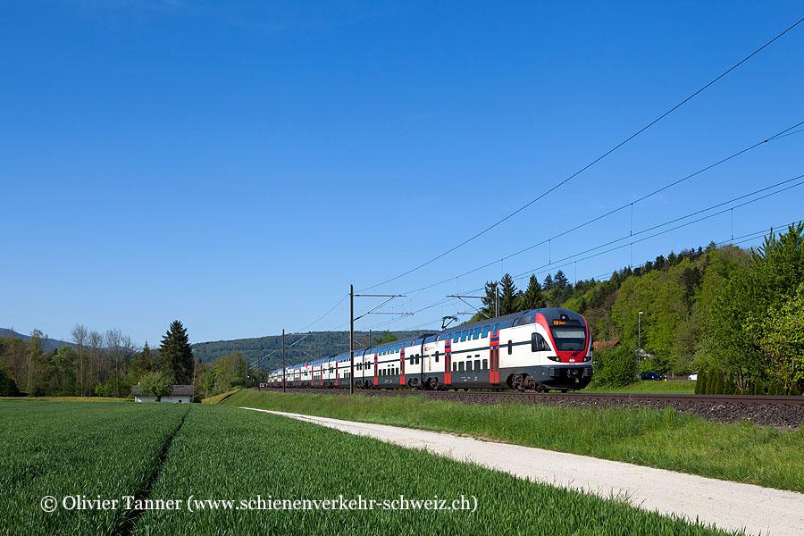 RABe 511 112 und RABe 511 027 als IR Zürich – Bern