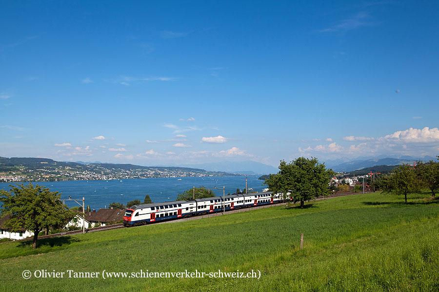 RABe 514 011 als S24 Zug – Zürich HB – Winterthur