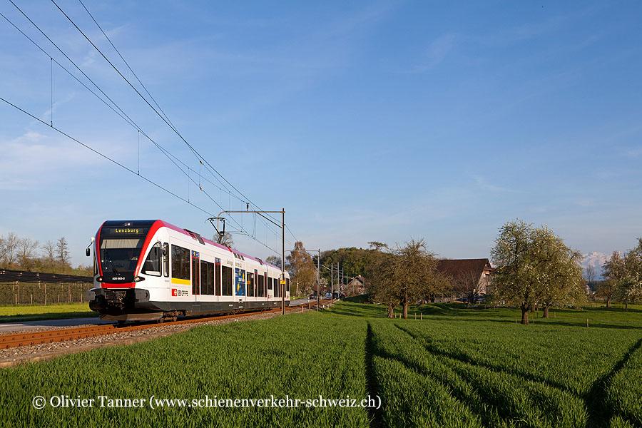 RABe 520 002 als S9 Luzern – Lenzburg