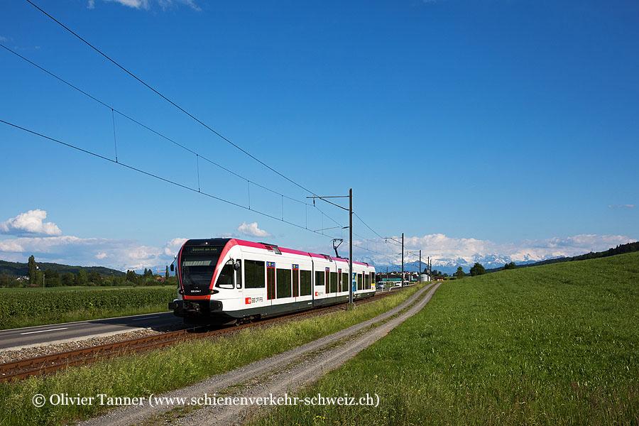 RABe 520 014 als S9 Luzern – Beinwil am See