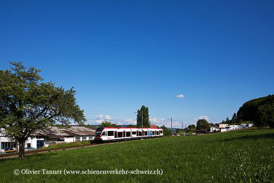 RABe 520 015 als S9 Luzern – Lenzburg