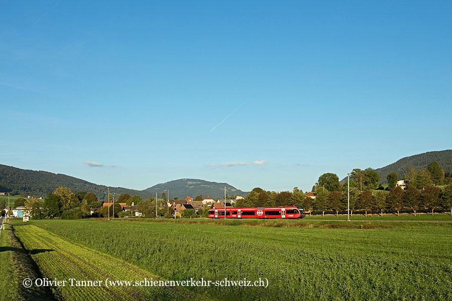 RABe 526 263 als Regio Biel/Bienne – La Chaux-de-Fonds