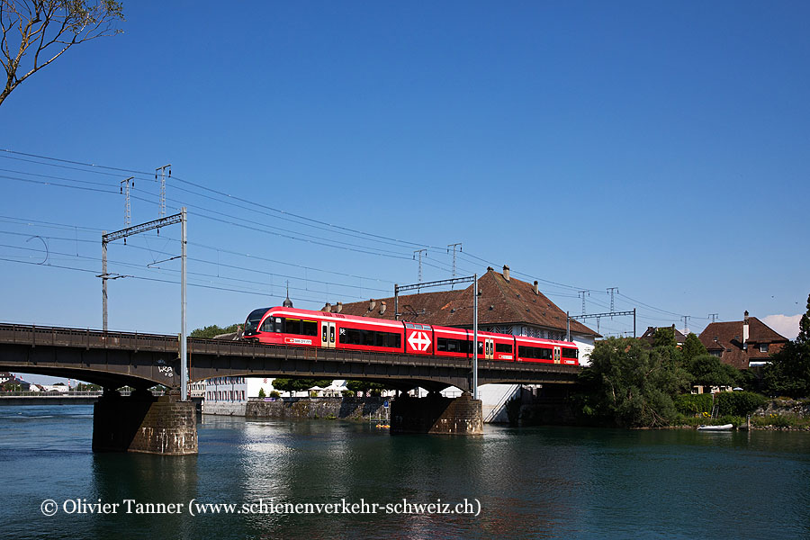 RABe 526 282 als Regio Solothurn – Moutier