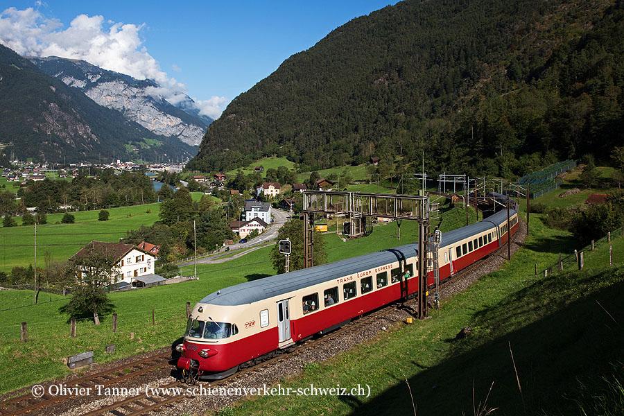 RAe TEE'' 1053 anlässlich der Gotthard Bahntage 2021 auf seiner Stammstrecke
