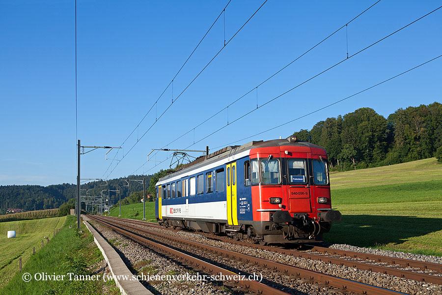 RBe 540 056 als Regio Romont – Palézieux