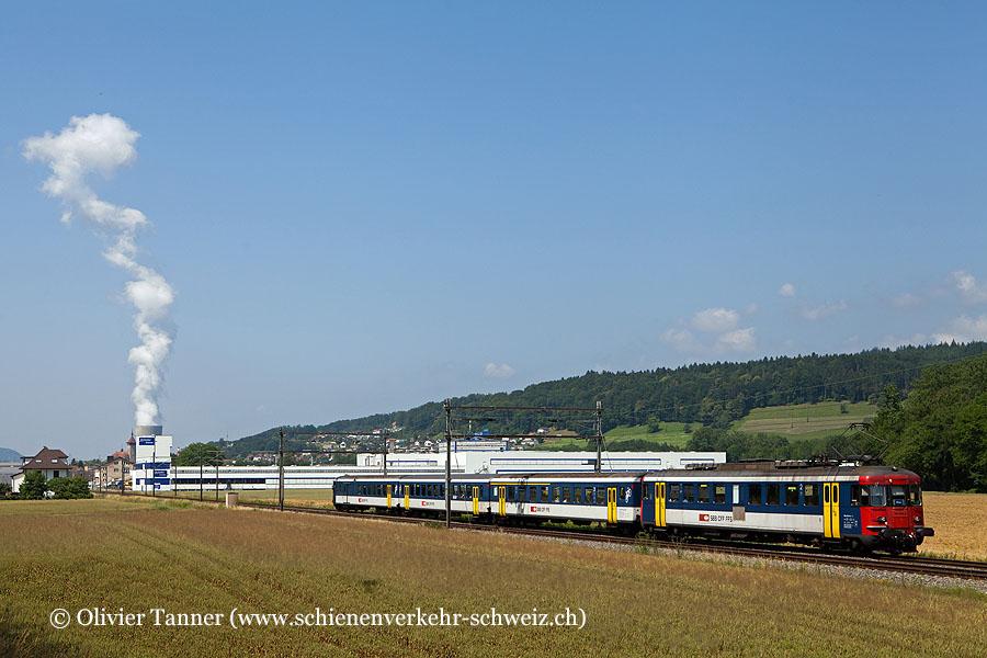 RBe 540 064 als S23 Langenthal – Baden