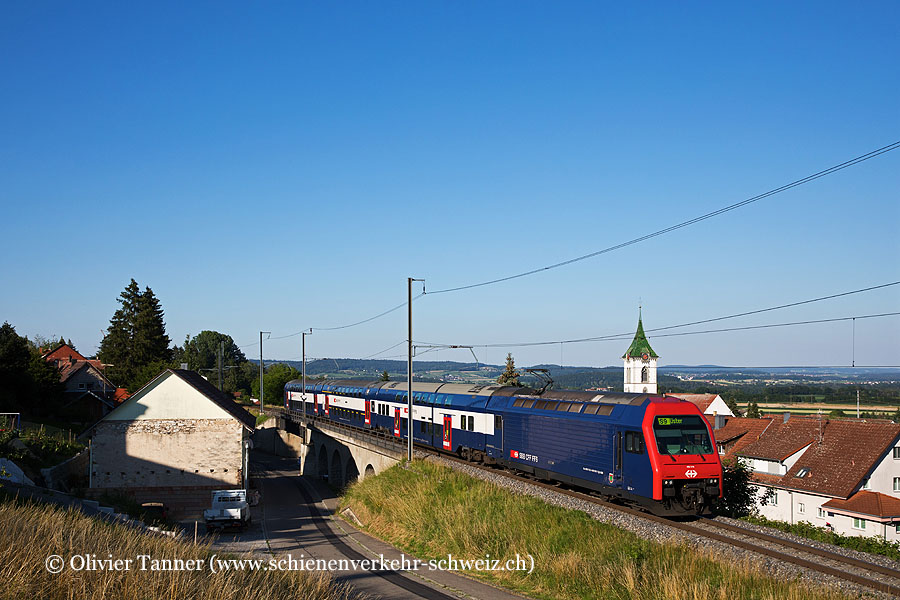 Re 450 018 als S9 Schaffhausen – Zürich HB – Uster