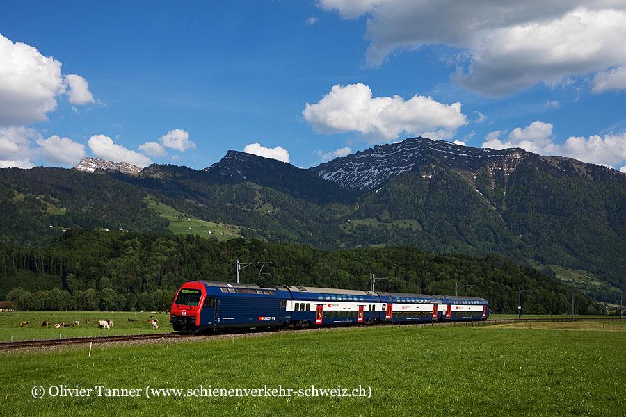 Re 450 043 als S6 Schwanden – Rapperswil