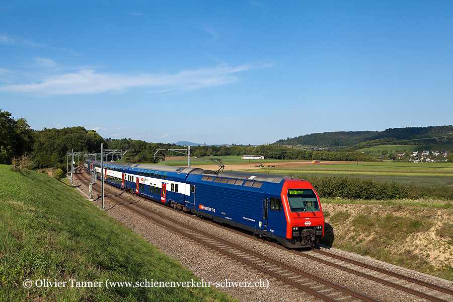 Re 450 087, Re 450 101 und Re 450 057 als S9 Schaffhausen – Zürich HB – Uster