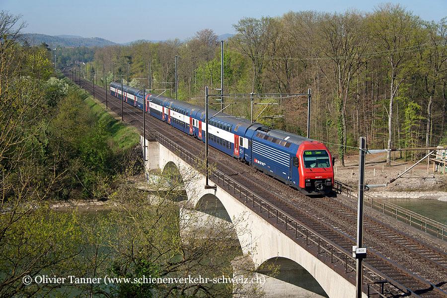 Re 450 097 und Re 450 003 als S12 Brugg – Baden – Zürich HB – Zürich Stadelhofen – Winterthur – Winterthur Seen