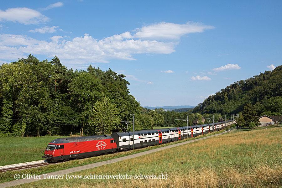 Re 460 050 mit IR27 Luzern – Basel