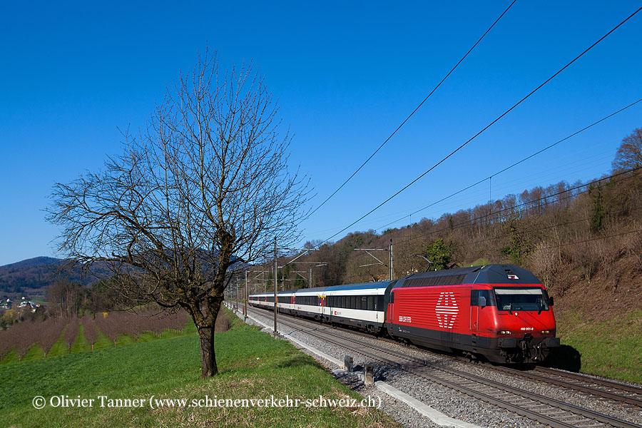 Re 460 051 mit IR Basel – Zürich