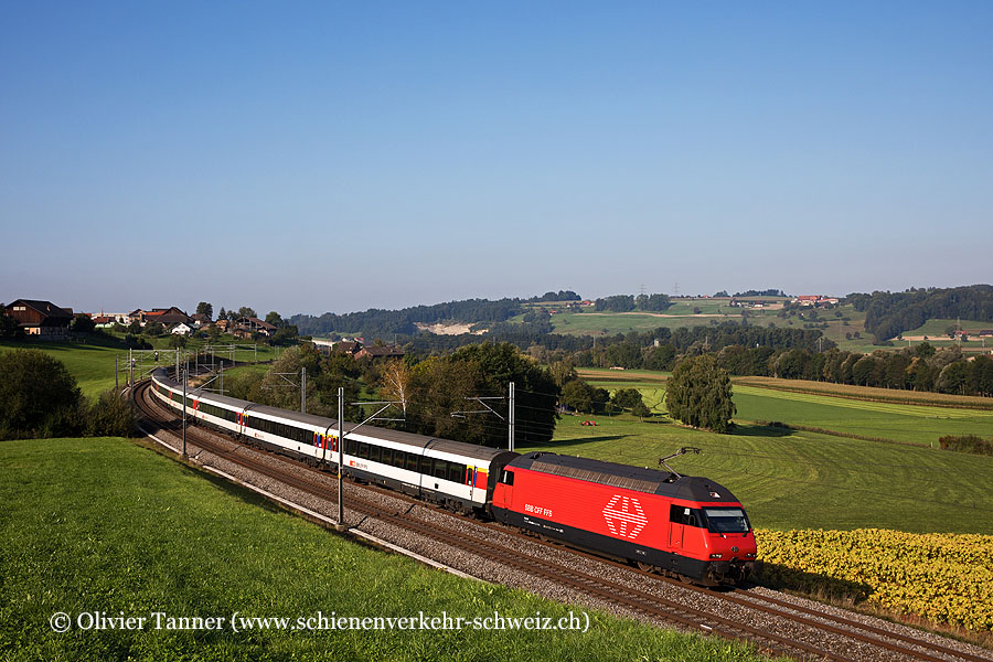 Re 460 063 mit IC Basel – Luzern – Locarno