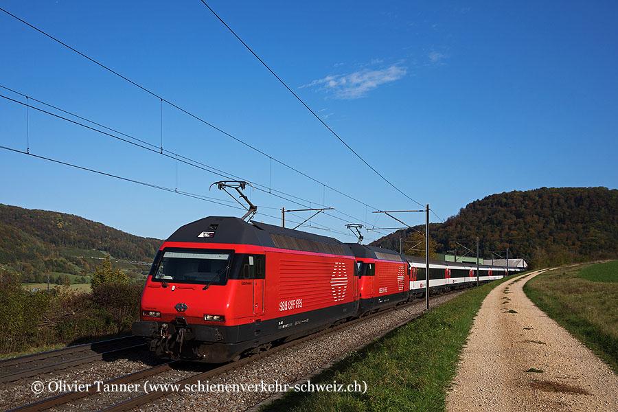 Re 460 116 und Re 460 030 mit IR36 Zürich – Basel