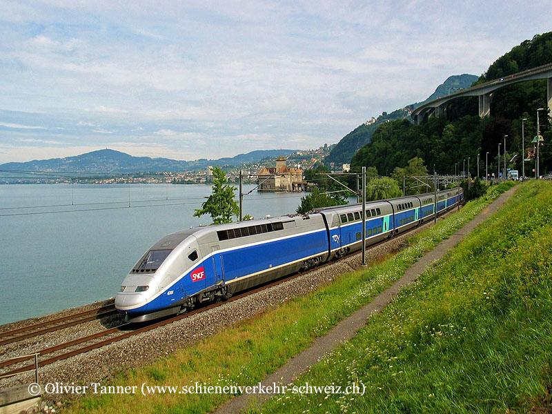 TGV Duplex 4701 auf Testfahrt
