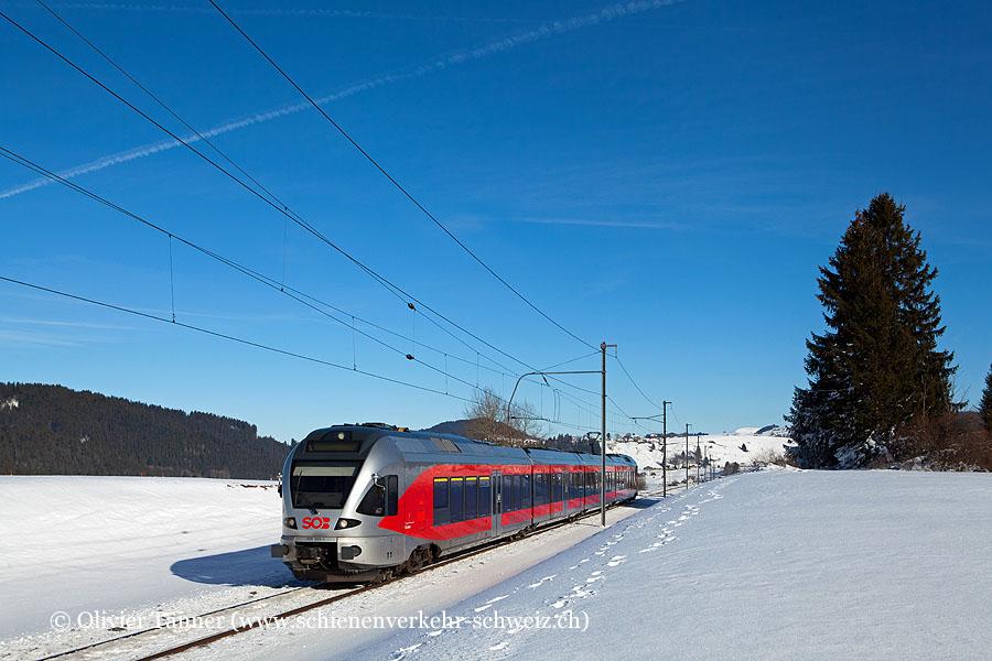RABe 526 059 als S31 Biberbrugg – Arth-Goldau