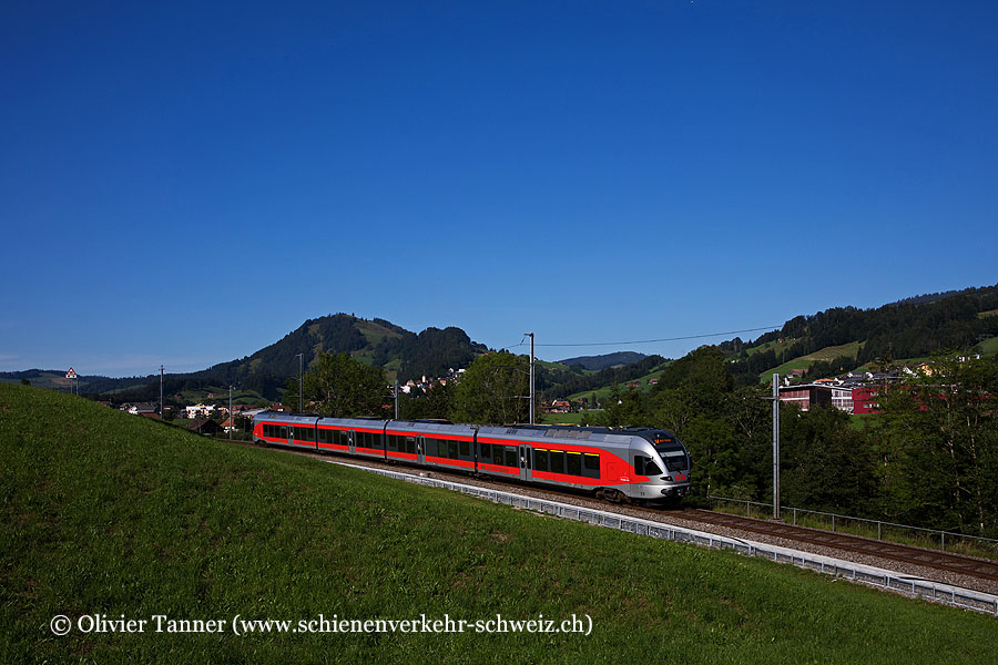 RABe 526 060 als S31 Biberbrugg – Arth-Goldau