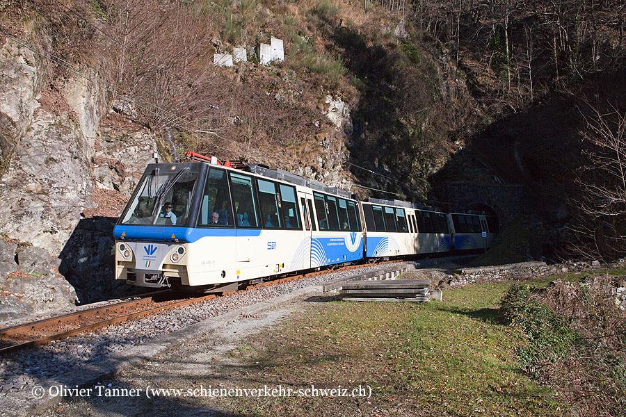 ABe 4/4 81 als Schnellzug nach Domodossola
