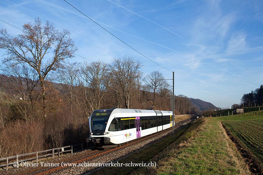 RABe 526 721 als S41 Winterthur – Bülach – Koblenz – Waldshut
