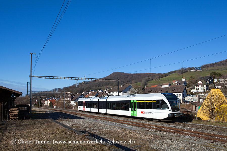 RABe 526 748 als S9 Sissach – Olten