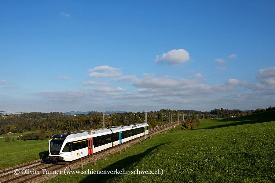 RABe 526 752 als S11 St. Gallen – Wil SG