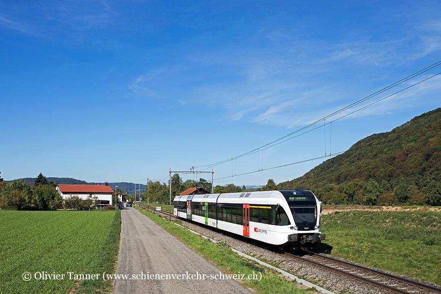 RABe 526 758 als S41 Waldshut – Koblenz – Bülach – Winterthur