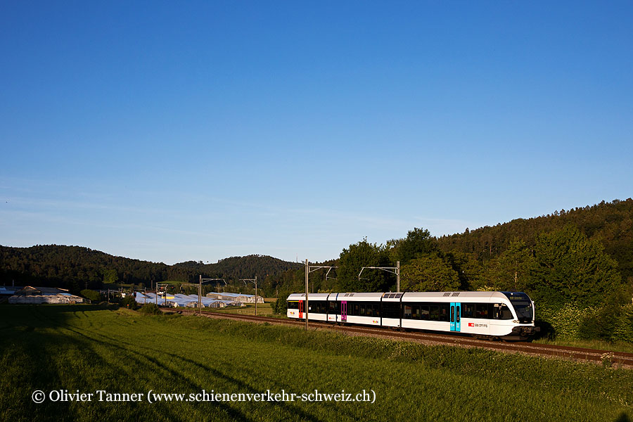 RABe 526 779 als S35 Wil SG – Winterthur