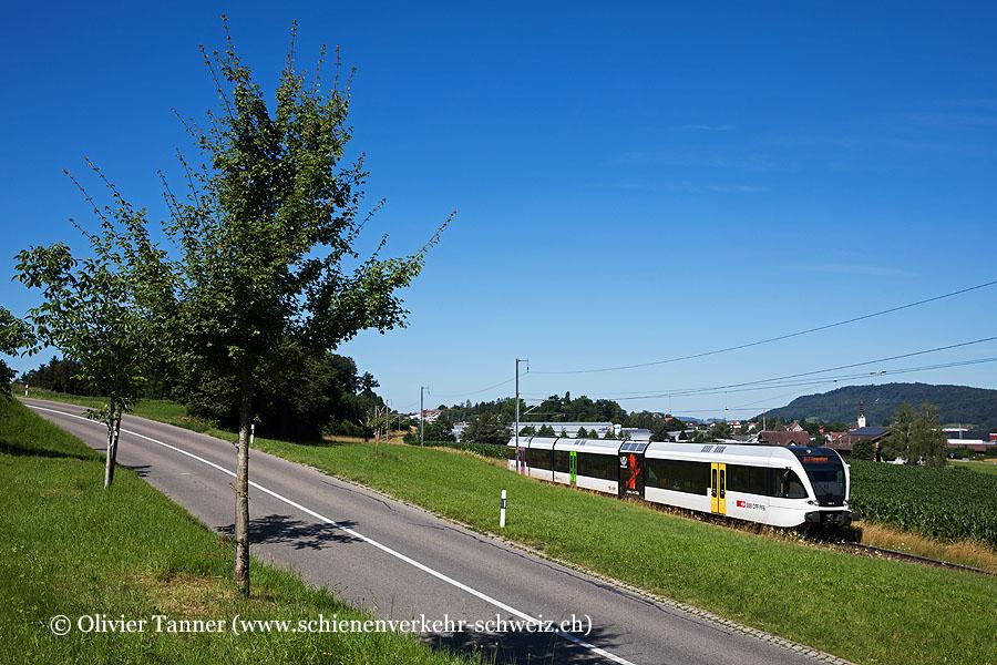 RABe 526 789 als S1 Wil SG – Weinfelden – Romanshorn