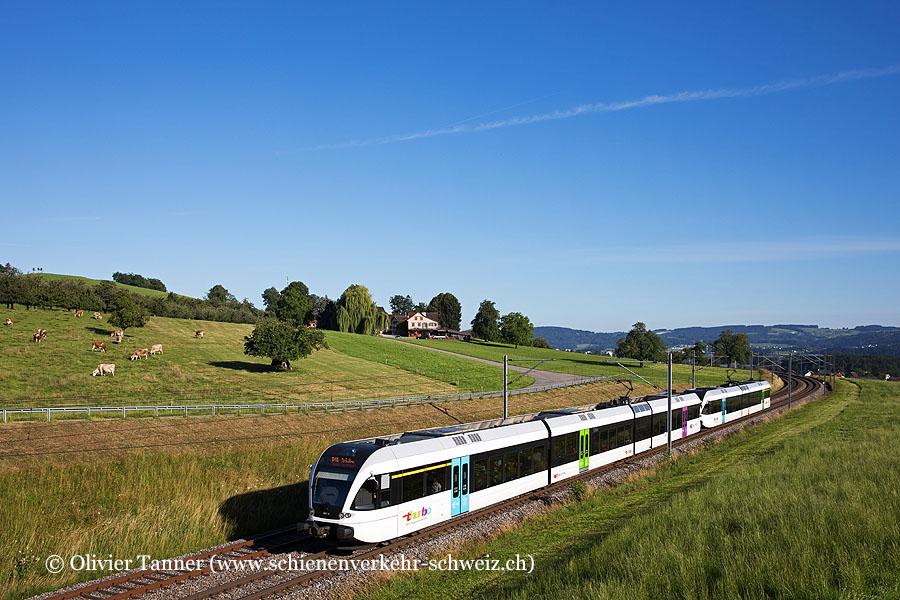 RABe 526 801 und RABe 526 738 als S1 Wil SG – St. Gallen