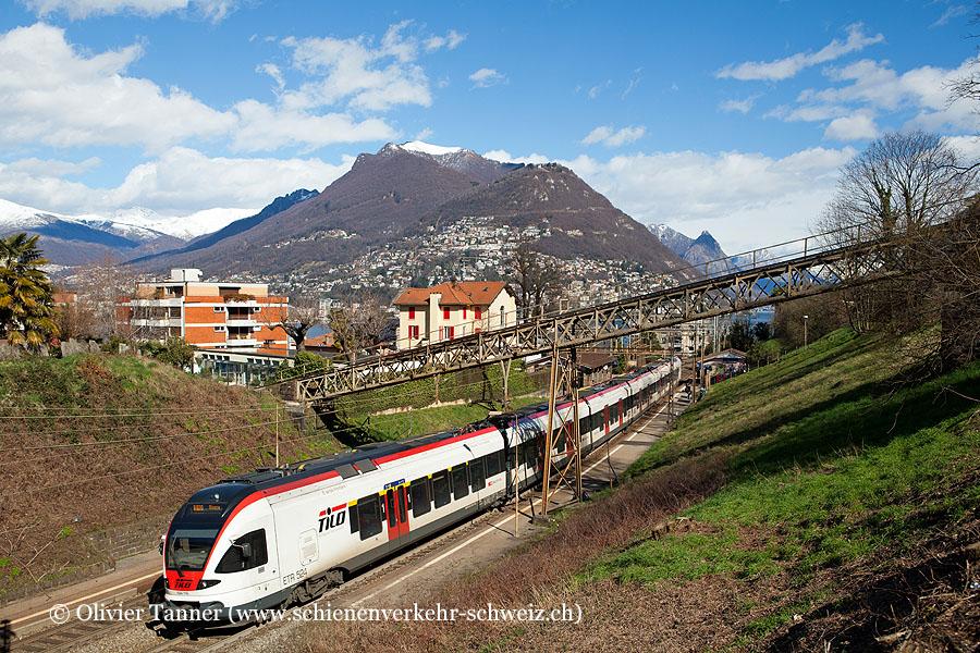 RABe 524 116 als S10 Albate-Camerlata – Chiasso – Bellinzona – Biasca