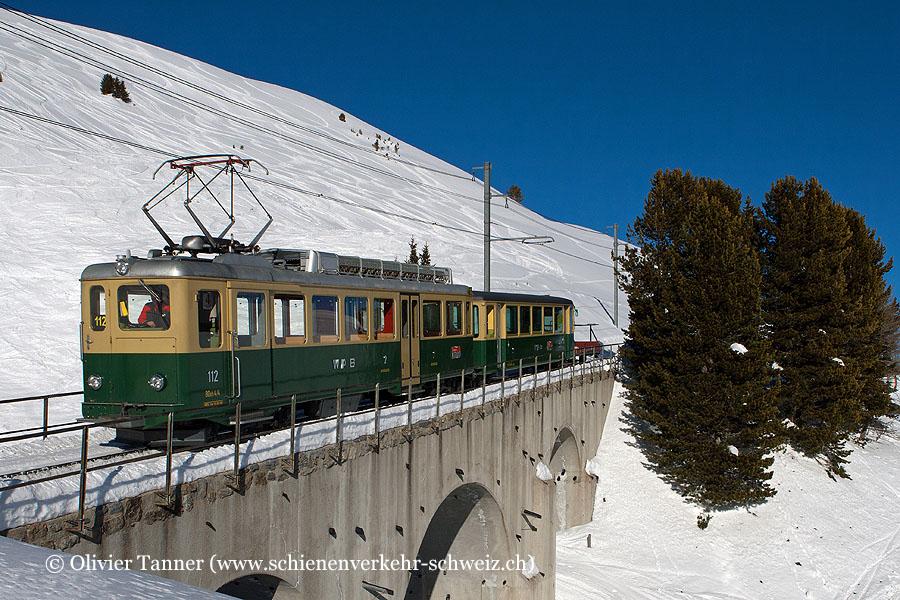 BDhe 4/4 112 als Regio Kleine Scheidegg – Lauterbrunnen
