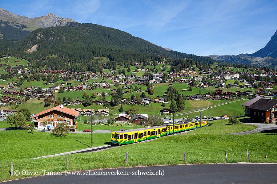 BDhe 4/8 132 und BDhe 4/8 134 als Regio Grindelwald – Kleine Scheidegg
