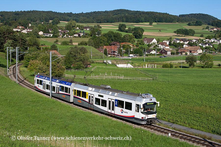 S14 Menziken – Aarau – Schöftland mit Be 4/8 29