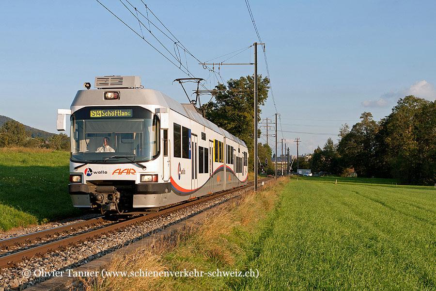 S14 Menziken – Aarau – Schöftland mit Be 4/8 30