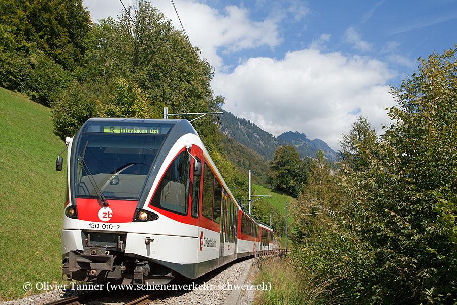 ABe 130 010 als Regio Meiringen – Interlaken Ost