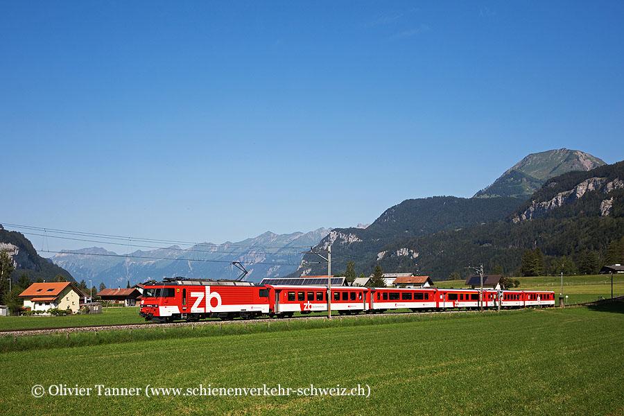 HGe 101 964 mit IR Luzern – Interlaken Ost