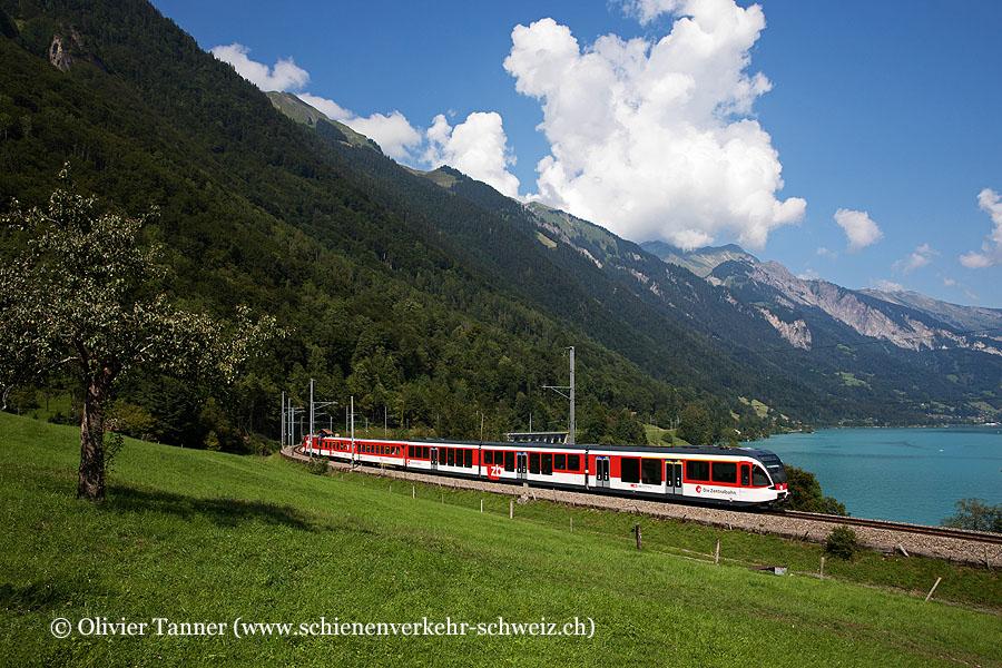 Gelenk-Steuerwagen mit HGe 101 964 als IR Luzern – Interlaken Ost