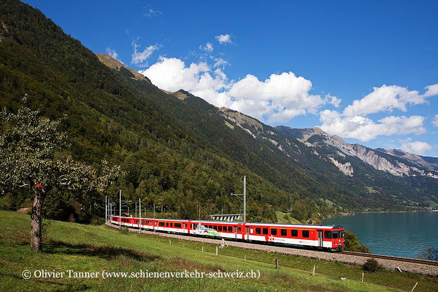 HGe 101 962 als IR Luzern – Interlaken Ost