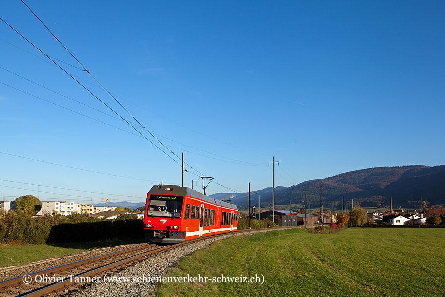 ABe 2/6 634 auf dem Weg nach La Chaux-de-Fonds