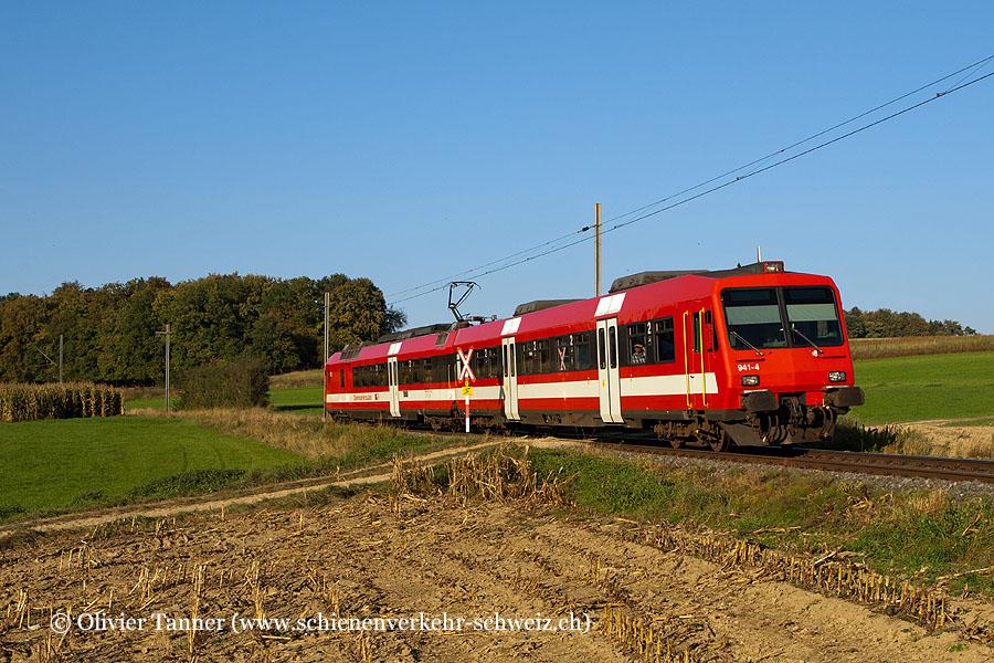 NPZ Pendelzug mit RBDe 560 141 als Regio Bonfol – Porrentruy