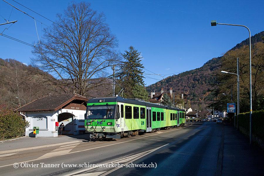 Beh 4/8 92 als Regio Bex – Villars-sur-Ollon
