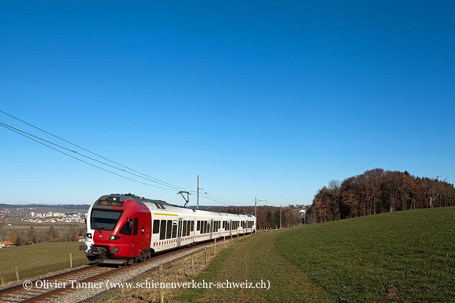 RABe 527 192 als RegioExpress Fribourg – Bulle